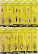 (12) Booyah Bait Company 1/4 Oz Boo rig alpine BYBR14685