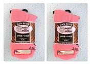 (2) Pair Dan Post Cowgirl Certified Over The Calf Womens Pink Boot Socks 7-9 1/2
