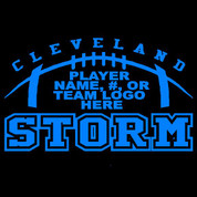 CLEVELAND - (Football-70) CAR DECAL