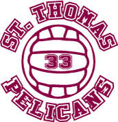 ST THOMAS (Volleyball-11) HOODIES