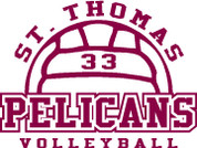ST THOMAS (Volleyball-12) HOODIES