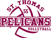 ST THOMAS (Volleyball-14) HOODIES