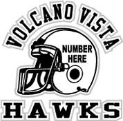 VOLCANO VISTA - (Football-11-03) SHIRTS