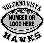 VOLCANO VISTA - (Football-11-22) SHIRTS
