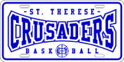 ST THERESE Crusaders (Basketball-03) PLATE