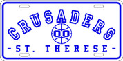 ST THERESE Crusaders (Basketball-10) PLATE