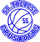 ST THERESE Crusaders (Basketball-11) CAR DECAL