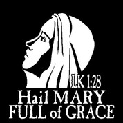 Mary-11 (Car Decal)