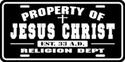 Property of Jesus Christ (Plate)