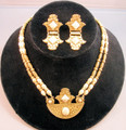1928 Jasper Necklace and Earring Set