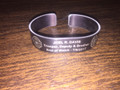 Trooper Joel R. Davis memorial bracelet