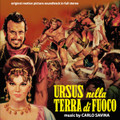 Carlo Savina-Ursus nella terra di fuoco-OST-NEW CD