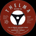 Emanual Laskey-Peace Loving Man/Don't Lead Me On-Northern Soul-new SINGLE 7""