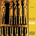 ALEXANDER SOPCHEK-Masks-African rhythms Jazz-Funk LP