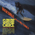 Dick Dale And His Del Tones-Surfer's Choice-'62 Surf Rock Classic-NEW LP