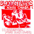 VA-Bloodstains Across Canada-Punk Compilation-NEW LP RED