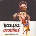 """Ennio Morricone-Uccellacci e uccellini-'66 OST-NEW 10"""" LP"""