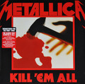 Metallica-Kill 'Em All-'83 SPEED METAL-NEW LP REM