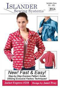 OW - Jacket Express XXS pieces 4, 8, 9 11 & 12 only