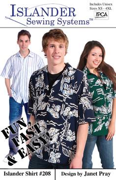 Unisex Islander Shirt Pattern