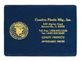 """# 110-A AUTO INSURANCE I.D. CARD HOLDER WITH 4"""" OPENING ON SIDE"""