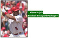 Jugs A0001 Albert Pujols Baseball Backyard Package