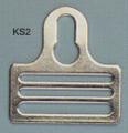 "1-1/2"" Key-Hole Fastener, Steel"