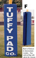 """Deluxe Goal Post Pad (6"""" Pole)"""