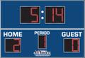 All American 8780 Soccer Scoreboard