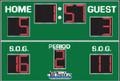 All American 8718 Soccer Scoreboard