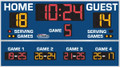 All American 8614 Volleyball Scoreboard