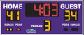 All American 8206 Basketball Scoreboard