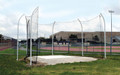 Gill 6 Pole Steel High School Discus Cage