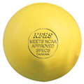 Sportco Lacrosse Ball - Yellow  *CLOSEOUT*