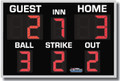 All American 8340 Baseball Scoreboard