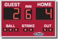 All American 8347 Baseball Scoreboard