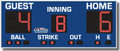 All American 8349 Baseball Scoreboard