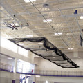 Jaypro Ceiling Suspended Retractable Batting Cage