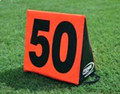 Fisher Triangular Sideline Markers