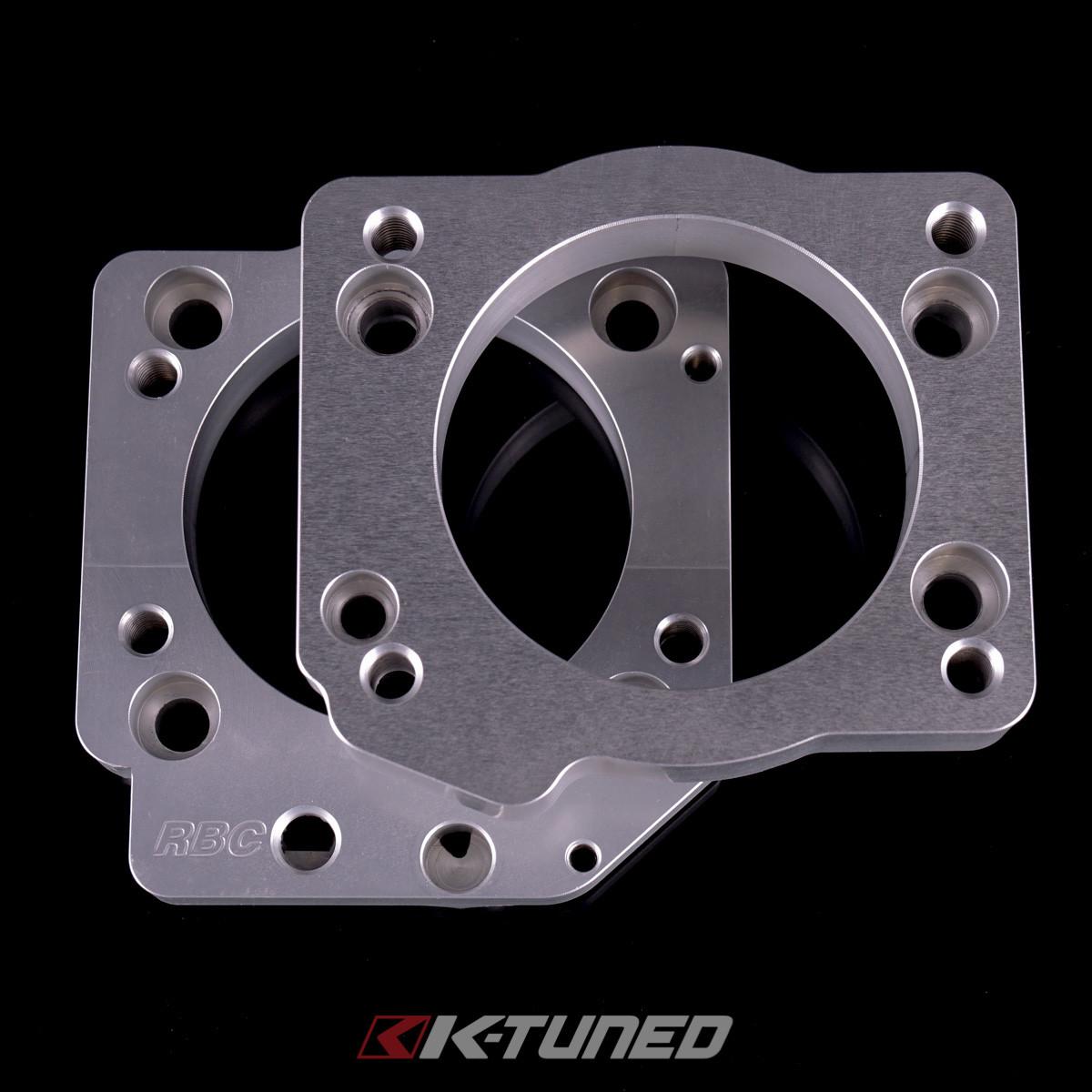 Honda Pilot Supercharger: K-Tuned ZDX TB Adapter RBC/RRC Manifold