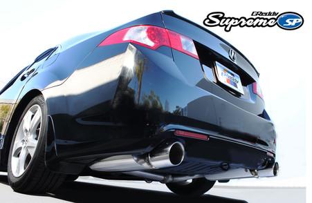 greddy supreme sp dual muffler cat back exhaust system. Black Bedroom Furniture Sets. Home Design Ideas
