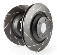 EBC USR Series Sport Slotted Rotors Set of 2 Rotors Rear