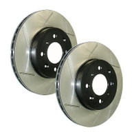 StopTech Slotted Sport Rotors (Front L&R) 2016+ Honda Civic Non Si