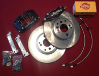 "Axion Industries Drag/Street 11.6"" Brake kit Wilwood 4 pot calipers"