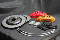 Buddy Club Racing Spec Brake Kit Civic 12+ Non Si 4pot 1pc/330mm Red Front