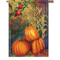 Autumn Still Life : Illuminated Flags