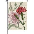 Carnation Celebration: Garden Flag