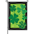 Shamrock Summit: Garden Flag