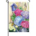 Colorful Hydrangeas: Garden Flag