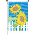Farmhouse Flowers: Garden Flag
